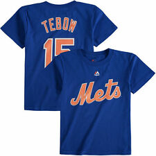 Majestic Tim Tebow New York Mets Toddler Royal Player Name and Number T-Shirt