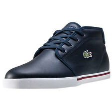Lacoste Ampthill 117 1 Mens Chukka Boots Navy New Shoes
