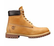 Timberland 10061 6-Inch Premium Mens Wheat Nubuck Leather Waterproof Boots