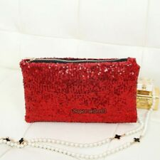 NEW Sexy Glitter Sparkling Sequins Dazzling Clutch Evening Party Handbag Purse
