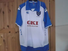 PORTSMOUTH FOOTBALL CLUB AWAY SHIRT XL SIZE CANTERBURY MAKE