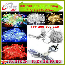 9m/18m/27m 100/200/300 LED String Fairy Light Christmas Tree Xmas Party Wedding