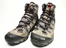 Salomon Quest 4D GTX Boots Men's Hiking Autobahn/Black/Flea GoreTex Size 10