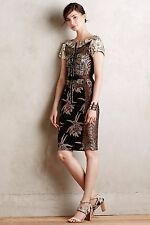NEW - Stunning Embroidered Brocade Dress by Byron Lars (Anthropologie $268), 0P