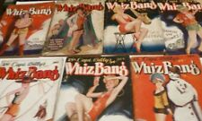Collection of Seven (7) Capt Billy's Whiz Bang Magazines - All 1929 - Risque