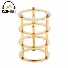 Vacuum tube guard cover protector for 300B 845 805 211 811 2A3,gold plated x1