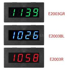 4 LED Digital Frequency Tachometer Car Motor Speed Meter Blue / Green / Red N0W3