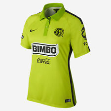 NIKE CLUB AMERICA 3RD THIRD WOMENS JERSEY 2015 MEXICO Atomic Green