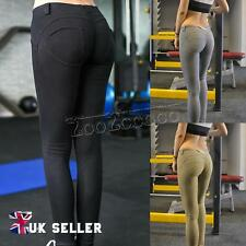 New Skinny Leggings Stretchy Jeggings Ladies Trousers Denim Jeans Colored 6-14