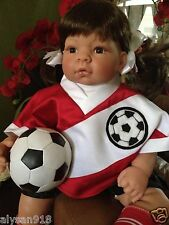 "X-MAS Sale LEE MIDDLETON "" Just For Kick's "" Collectable Doll By Reva Schick"