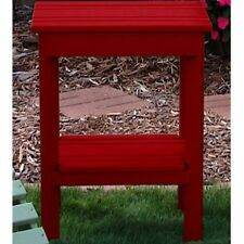 Prairie Leisure Country Cottage Adirondack Side Table. Shipping Included