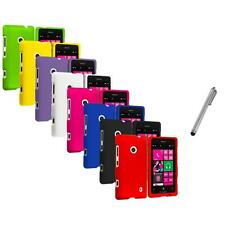 For Nokia Lumia 521 Snap-On Hard Rubberized Matte Case Cover Stylus Pen