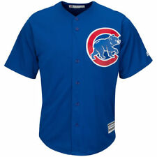 Majestic Chicago Cubs Youth Royal Official Cool Base Jersey
