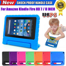 2016 Kids Shock Proof EVA Handle Case Cover For Amazon Kindle Fire HD 7 / 8 Inch