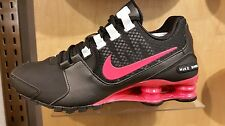 Women's Nike Shox Avenue Running Shoes - Black/Red