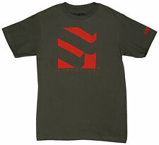 Form Athletics Serrated 2 T-Shirt (Charcoal/Red)