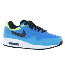 Nike Air Max 1 GS Blue Leather Youth Trainers