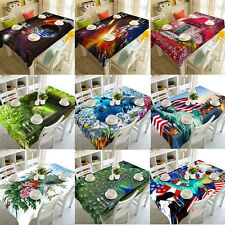 3D Dining Multi Functional Table Cloth Cover For Party Picnic TableCloth Decor