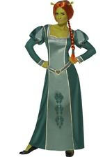 Shrek Fancy Dress Adult Princess Fiona Costume