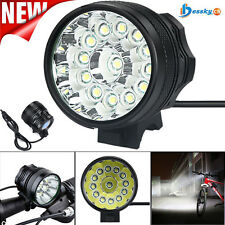 34000LM CREE XM-L T6 LED waterproof Bicycle Lamp Bike Cycling Light Headlight