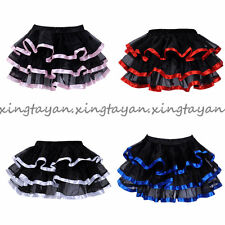 Ribbon Mini Petticoat Vintage Underskirt Swing Wedding Slip Crinoline Skirt