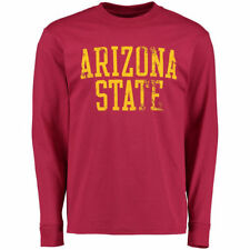 Arizona State Sun Devils Maroon Straight Out Long-Sleeve T-Shirt