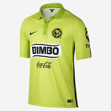 NIKE CLUB AMERICA THIRD JERSEY 2014/15 MEXICO Atomic Green/Brilliant Green/Black