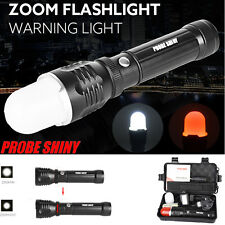 5000LM Zoomable CREE XM-L T6 LED Adjustable Waterproof Flashlight Torch Light