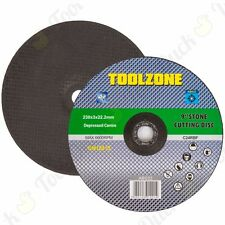 """9""""/230mm Masonry Angle Grinder Discs Stone/Concrete Cutting Grinding Saw Blade"""