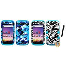 For Samsung S Blaze 4G T769 Hybrid TUFF IMPACT Phone Case Hard Cover Stylus Pen