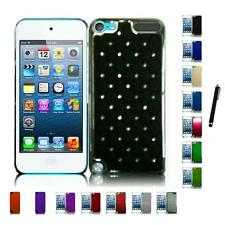 For Apple iPod Touch 5th 6th Gen Snap-On Design Hard Phone Case Cover Stylus Pen