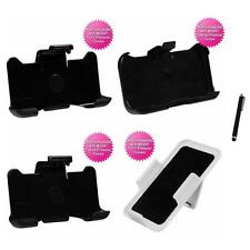 For Apple iPhone 4/4S TUFF Holster IMPACT Armor Clip Case Cover Stylus Pen