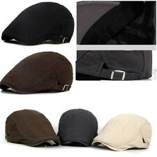 Portable Men Ivy Hat Cotton Cap Golf Driving Flat Cabbie Newsboy Beret Hat Gift
