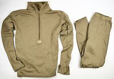 NEW POLARTEC GEN III LEVEL 2 ECWCS TOP & BOTTOM COYOTE BROWN