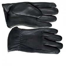 Deerskin Leather Gloves skin friendly cotton lining very soft comfortable fleece