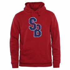 Stony Brook Seawolves Red Classic Primary Pullover Hoodie - College