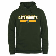 Vermont Catamounts Green Team Strong Pullover Hoodie - College