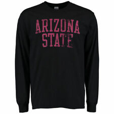 Arizona State Sun Devils Black Straight Out Long Sleeve T-Shirt