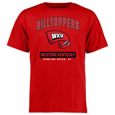 Western Kentucky Hilltoppers Red Campus Icon T-Shirt