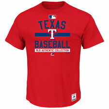Majestic Texas Rangers Men's Red Authentic Collection Team Property T-Shirt
