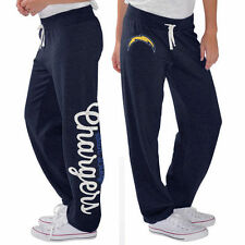 G-III 4Her by Carl Banks San Diego Chargers Women's Navy Scrimmage Fleece Pants