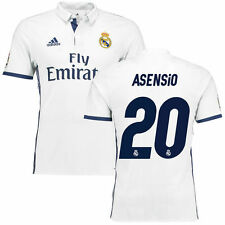 adidas Asensio Real Madrid White 2016/17 Home Authentic Jersey