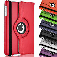 iPad Air 1 iPad 5 Leather Case 360° Rotating Smart Stand Cover Case Free Stylus