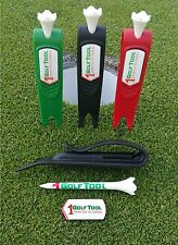 1GOLF TOOL, includes Golf Divot, Tool Tee, Ball Marker, Holder....... All-In-1