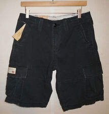 new Ralph Lauren Denim & Supply Polo military cargo shorts, washed, army black