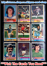 ☆ Topps 1977 Football Red Back Cards 1 to 100 (F) *Pick The Cards You Need*