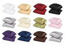 2pc Brand New King Size Silk~y Satin Pillow Case/Cases Multiple Colors Available