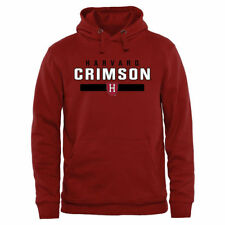Harvard Crimson Crimson Team Strong Pullover Hoodie