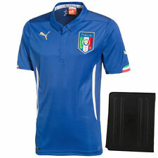 Puma Italy 2014 World Soccer Authentic Home Jersey with Tablet Case - Soccer