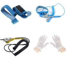 Anti-Static Electricity Grounding Wristband Wrist Strap/Cord/Gloves Ground Cable